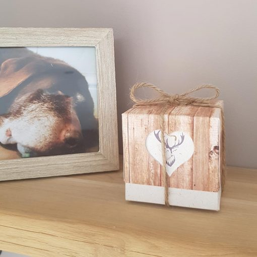 Stag Wedding Favours or Candle Box