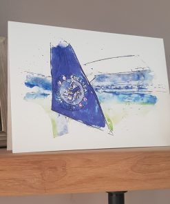 Watercolour Chelsea FC Card